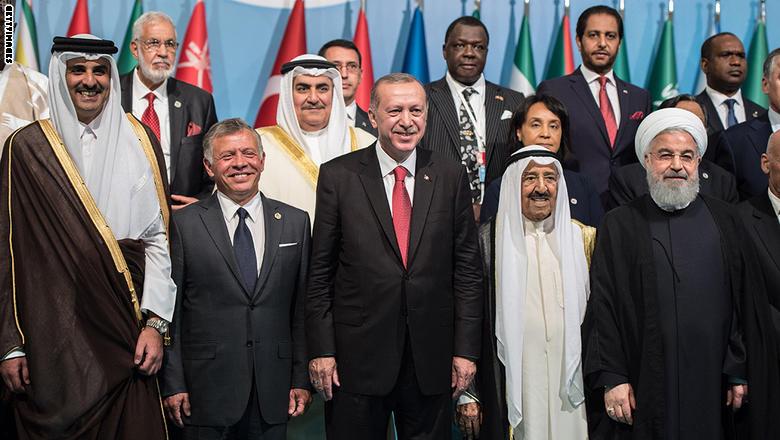 أردوغان يسيء للسعودية في تصريحاته في القمة الإسلامية