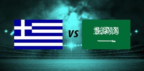 موعد مباراة السعودية واليونان الودية والقنوات المجانية الناقلة لها