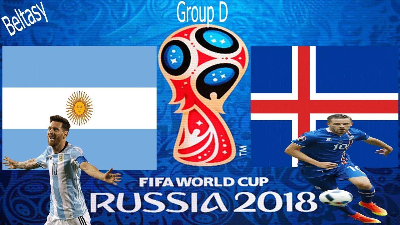 القنوات المجانية الناقلة لمباراة الأرجنتين وايسلندا اليوم السبت في كأس العالم روسيا 2018