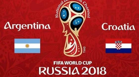 القنوات المفتوحة الناقلة لمباراة الأرجنتين وكرواتيا يوم الخميس في كأس العالم روسيا 2018