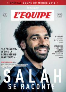 محمد صلاح على غلافصحيفة ليكيب