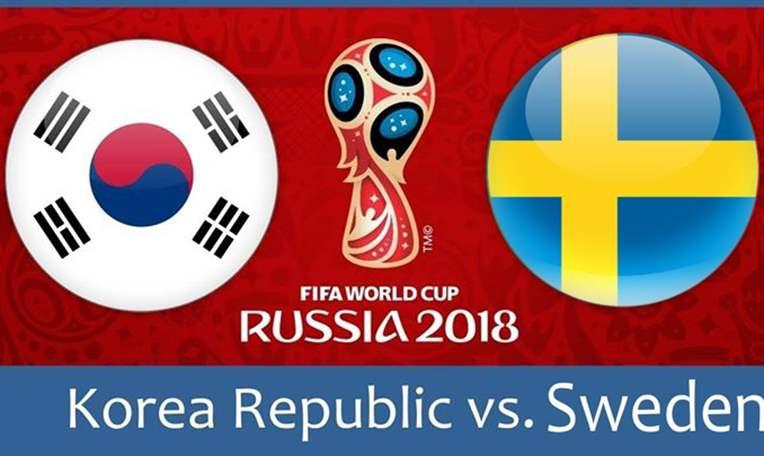 القنوات المجانية الناقلة لـ مباراة السويد وكوريا الجنوبية اليوم الإثنين في كأس العالم روسيا 2018