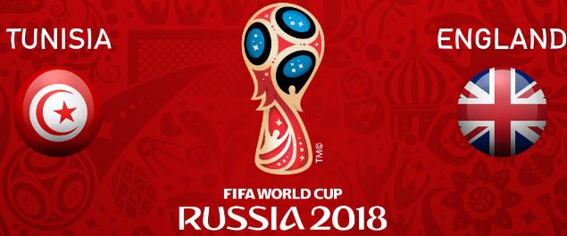 القنوات المجانية الناقلة لـ مباراة تونس وإنجلترا اليوم الإثنين في كأس العالم روسيا 2018
