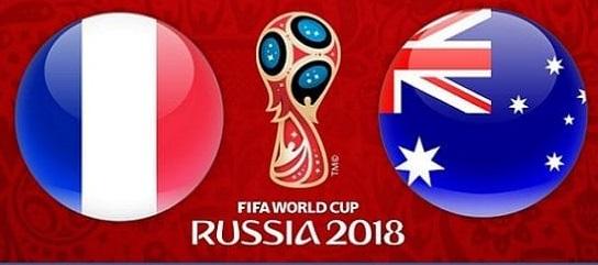 القنوات المفتوحة الناقلة لمباراة فرنسا وأستراليا اليوم السبت فى كأس العالم روسيا 2018
