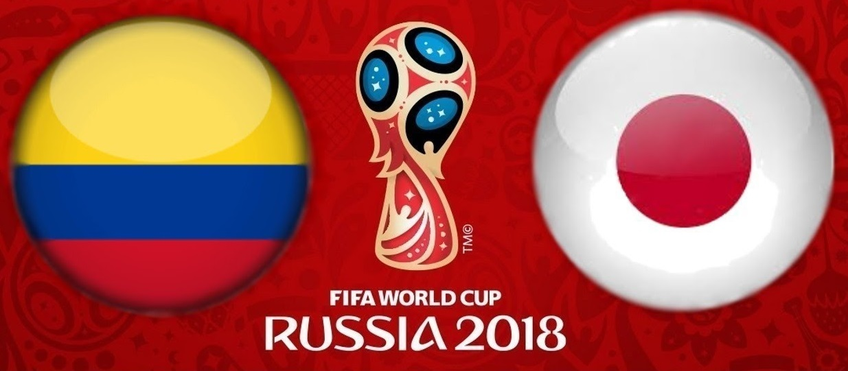 القنوات المفتوحة الناقلة لمباراة كولومبيا واليابان يوم الثلاثاء في كأس العالم روسيا 2018