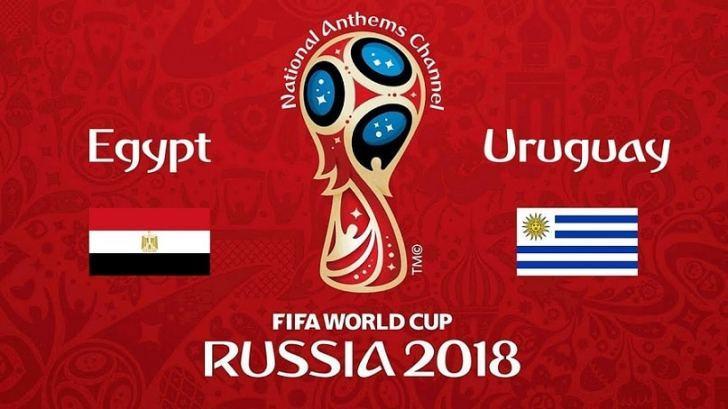 القنوات المفتوحة الناقلة لمباراة مصر وأوروجواي اليوم الجمعة فى كأس العالم روسيا 2018