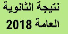 أعرف نتيجتك الآن بالاسم فقط .. ظهرت الآن نتيجة الثانوية العامة 2018 في جمهورية مصر