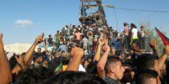 استشهاد 4 مواطنين و اصابة 120 لغاية الآن وقصف قطاع غزة ما زال مستمر