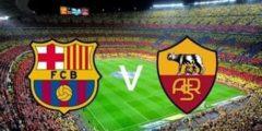 القنوات المفتوحة الناقلة لمباراة برشلونة وروما والتشكيلة المتوقعة في كأس الأبطال الودية