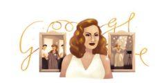 """جوجل تحتفل بميلاد هند رستم """"ملكة الأغراء"""" الذكرى ال 87"""