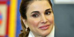 الملكة رانيا العبد الله تتسلم جائزة شخصية العام