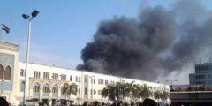 حريق محطة مصر.. روايات عن لحظات الرعب على لسان عاملات النظافة