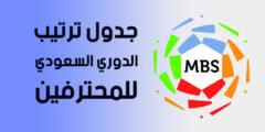 ترتيب الدوري السعودي للمحترفين بعد فوز النصر في الوقت القاتل