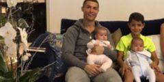 شاهد ابن كريستيانو رونالدو يتفوق على والده