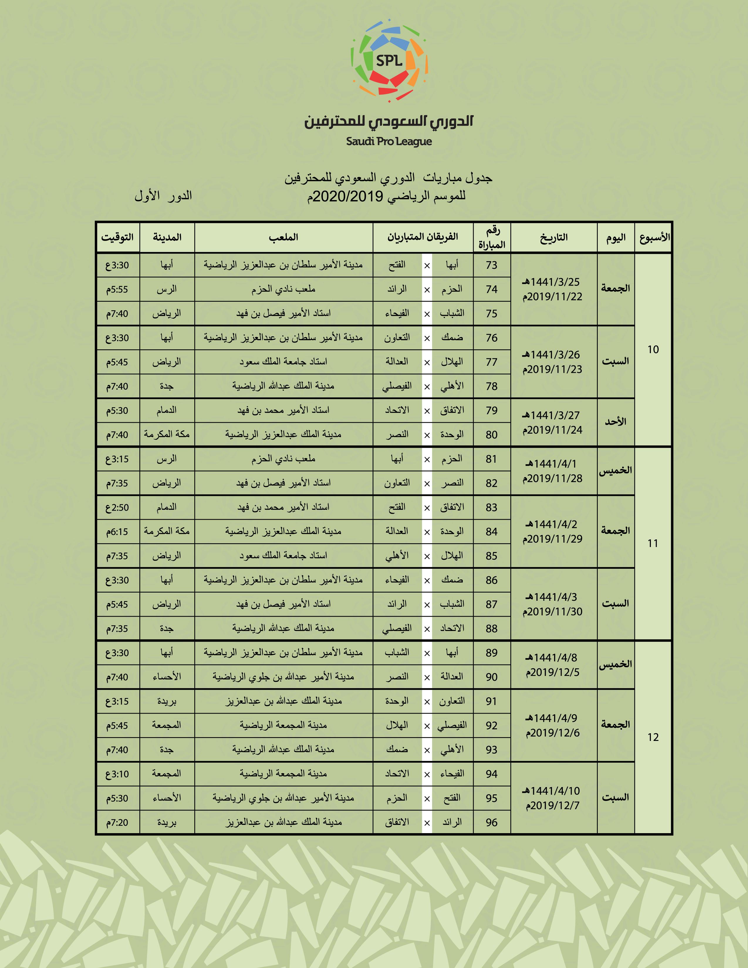 8f9920799 جدول مباريا الدوري القطري للموسم 2020 2019