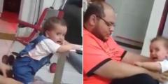معذب طفلة.. بالفيديو أب يعذب طفلته الرضيعة في الرياض وآخر التطورات