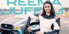 تعرف على ريما الجفالي أول سعودية تشارك في سباق الدرعية Jaguar I-PACE eTrophy