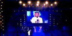 عبدالمجيد عبدالله يشارك الموسيقار الكبير سهم في #ليلة_سهم