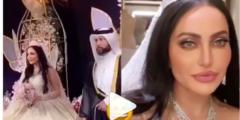 فوز الشطي في حفل زفافها نسخة من أنجلينا جولي.. ومن هو زوج فوز الشطي؟