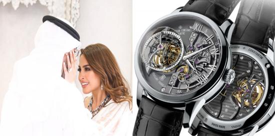 نتيجة بحث الصور عن ساعة زوج فوز الفهد عبداللطيف الصراف