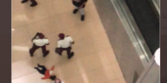 سقوط طفلة من الدور الرابع في مجمع تجاري بالرياض
