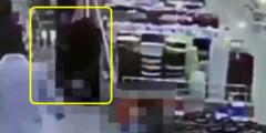 بالفيديو شهامة ممرضة تنقذ حياة مواطن في أحد محلات تسوق عرعر