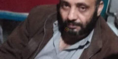 وفاة أبو طارق البنا صاحب مخبز البنا الذى احترق بحريق النصيرات