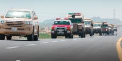 قوات الحرس الوطني في مكة لمساعدة القطاعات الأمنية في تطبيق قرار منع التجول