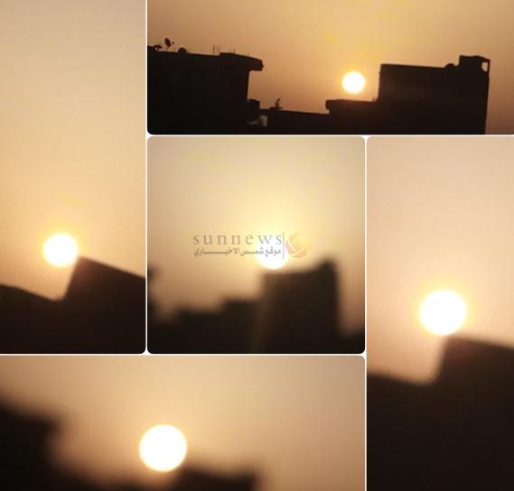 شروق شمس ليلة القدر 24 رمضان