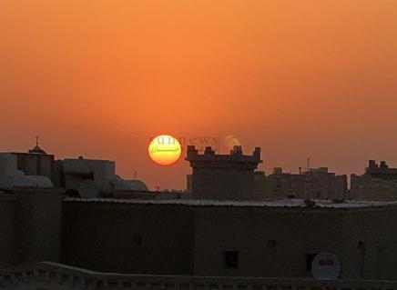 صور شمس 23 رمضان ليلة القدر من الكويت