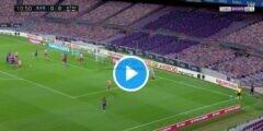 برشلونة ضد أتلتيكو مدريد.. شاهد دييجو كوستا يسجل في مرماه بواسطة ركلة ركنية من ليونيل ميسي