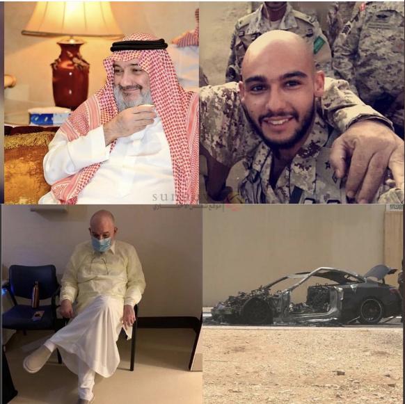 تعرض صاحب السمو الملكي الأمير محمد بن خالد بن طلال بن عبدالعزيز لحادث مروري