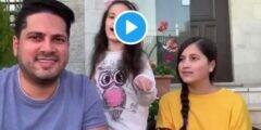 بالفيديو عمر الصعيدي ترند والسبب قرصه لبنته.. فيديو لا تقرصني لا تقرص مايا الصعيدي