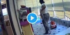بالفيديو عاملة تُنقذ حياة طفلة من الموت لحظة إنفجار بيروت