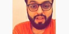 بالفيديو منصور الرقيبة في أول ظهور له بعد شفائه من فيروس كورونا يتحدث عن تخيلاته والهلوسة
