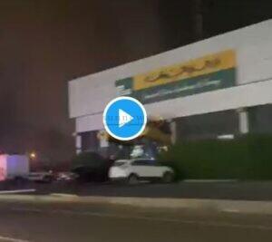محطة قطار الحرمين, حريق قطار الحرمين