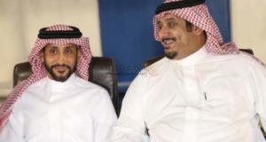 اعتذار سامي الجابر لنواف بن سعد