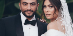 صور حفل زفاف الفنانة هاجر أحمد وأحمد الحداد